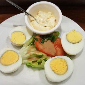 oeufs durs et mayonnaise maison