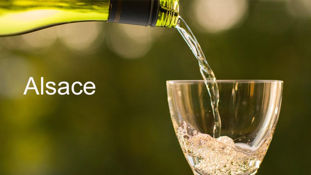 la carte des vins alsace