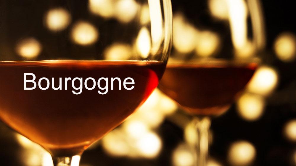 la carte des vins de bourgogne