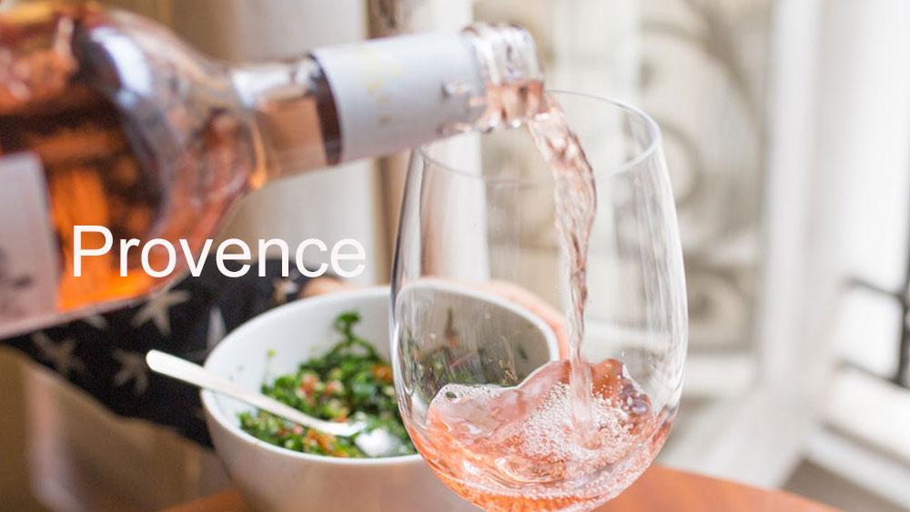 la carte des vins provence