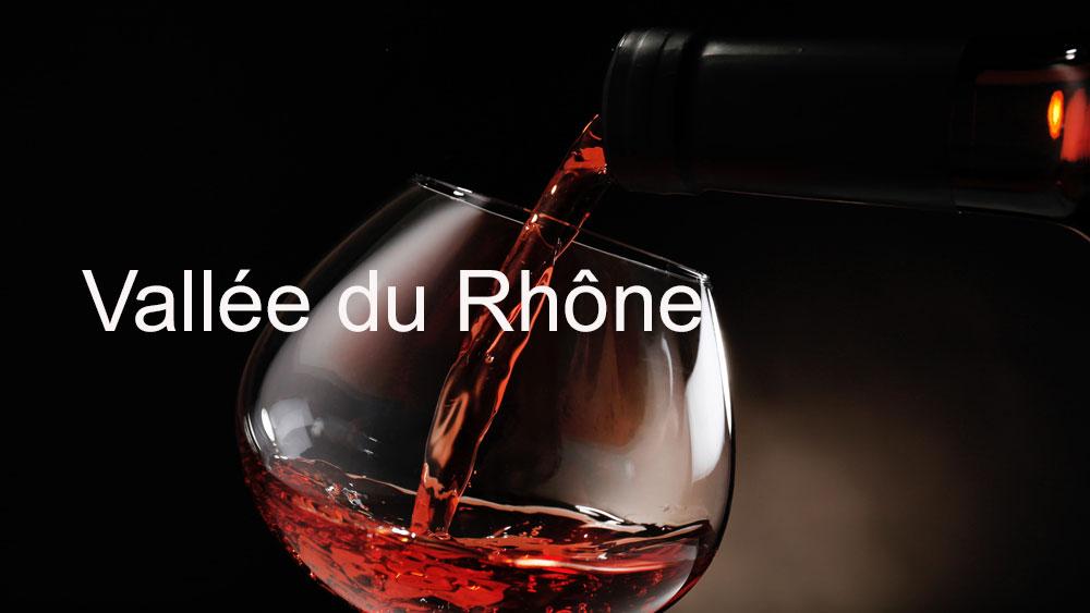 la carte des vins vallee du rhone