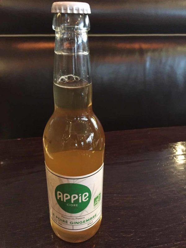 Cidre gingembre Appie