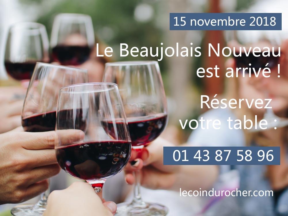 Fete du Beaujolais nouveau jeudi 15 novembre 2018