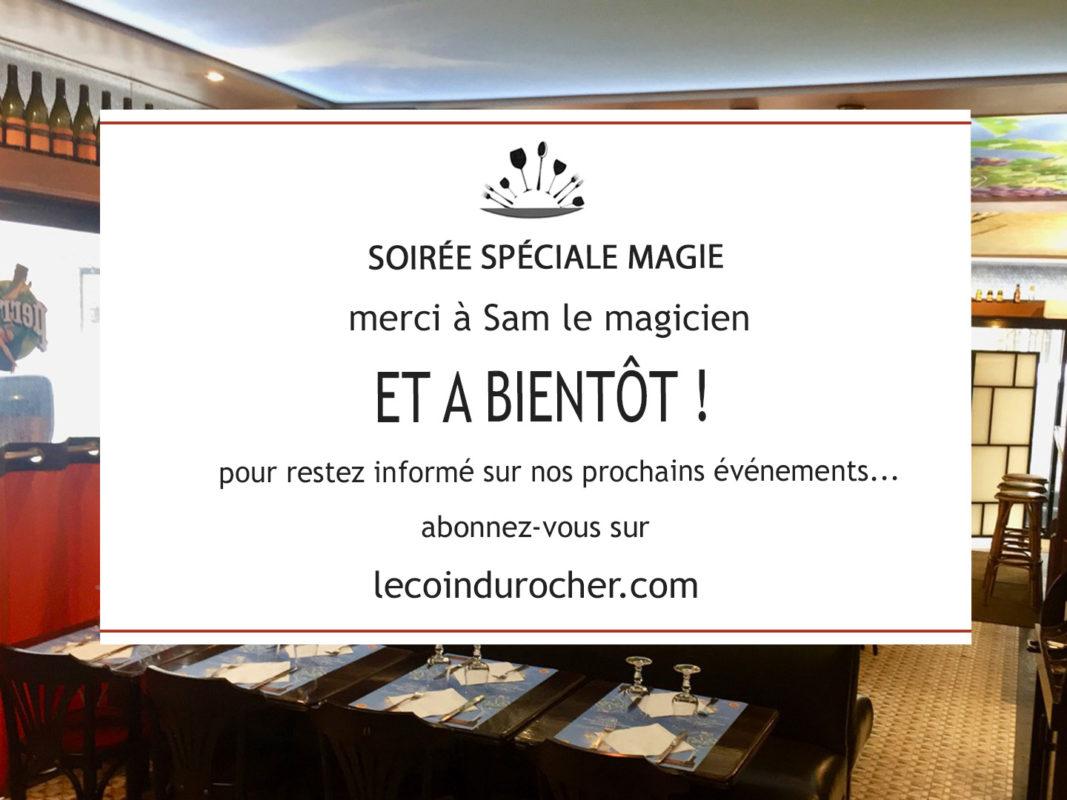 Soirée Spéciale Magie vendredi 30 novembre 2018 - la vidéo