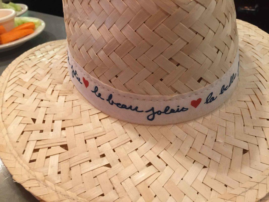 Le chapeau Beaujolais Nouveau 2018