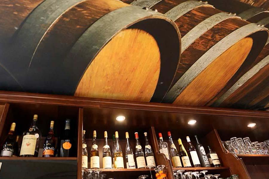 bar a vin Le Coin du Rocher