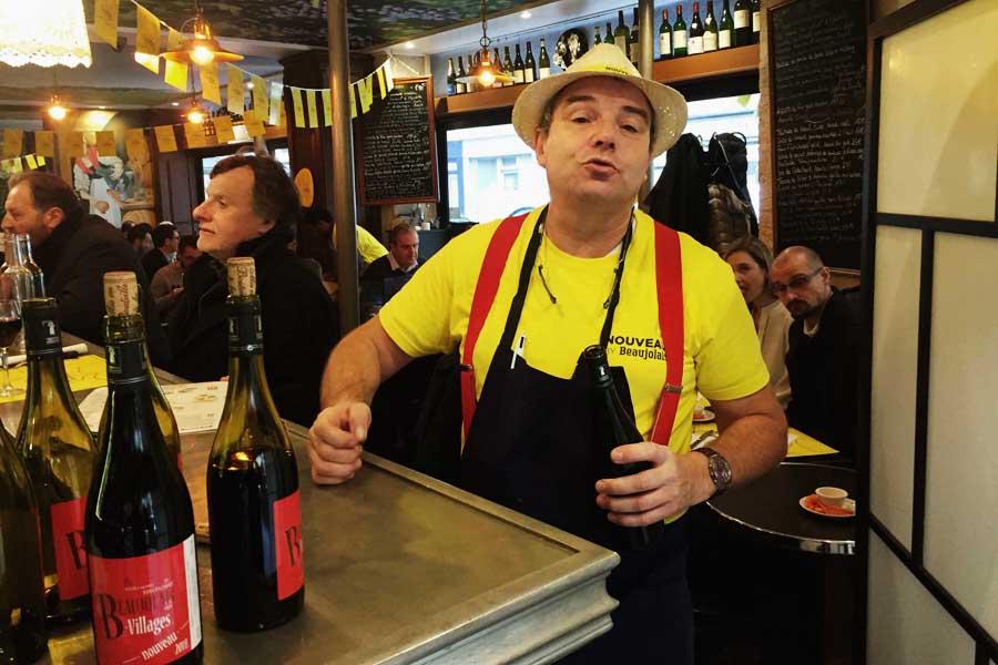 thierry en service fete du beaujolais