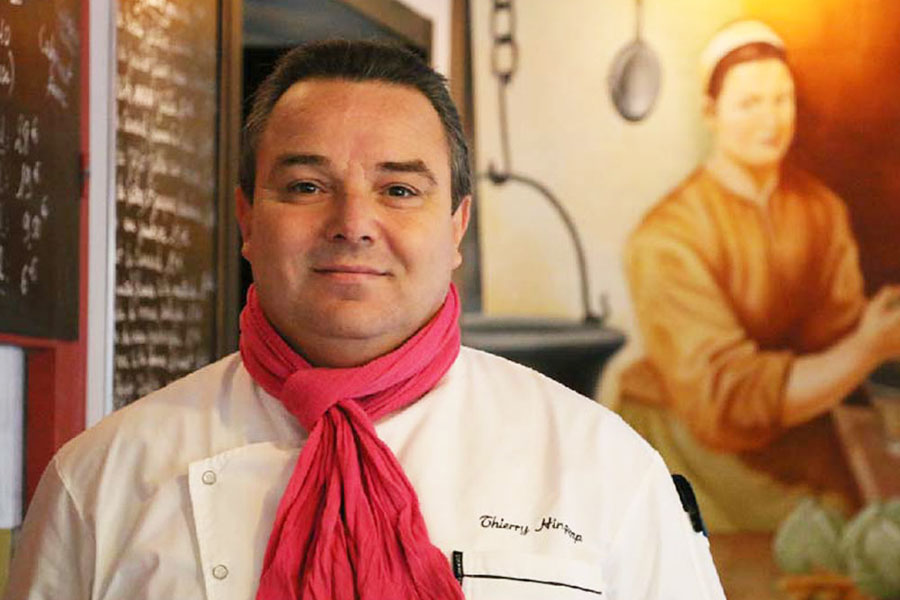 thierry hingamp chef du bistrot le coin paris
