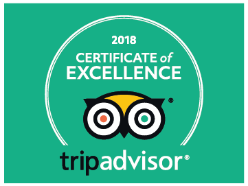 Certificate of Excellence by TripAdvisor for Restaurant Le Coin, Paris 8