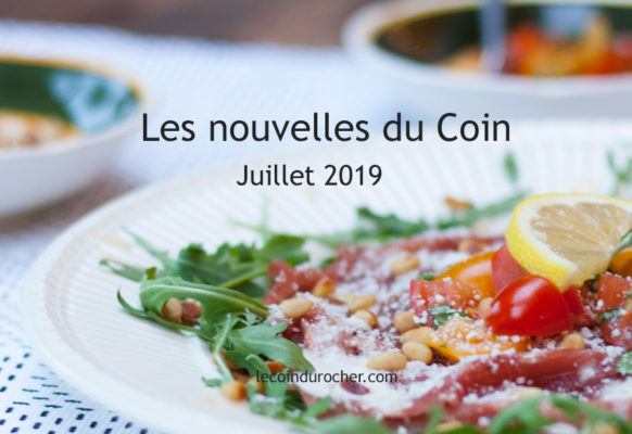 le coin paris - newsletter juillet 2019