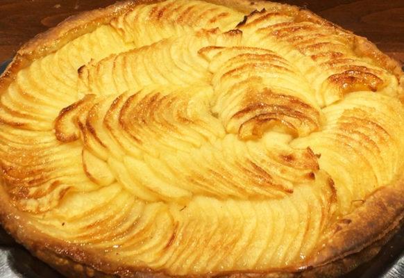 Le Coin Paris - Tarte aux pommes faite maison
